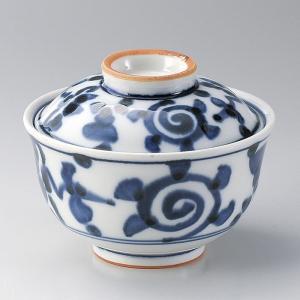 蓋付き煮物碗・ルリ唐草円菓子碗11.3cm|utuwayaissin