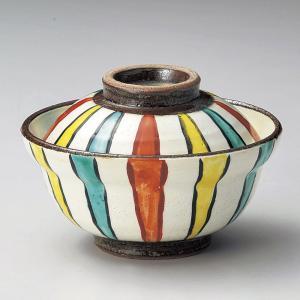 蓋付き煮物碗・色十草小蓋向11cm|utuwayaissin