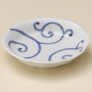 業務用小皿・唐草雪輪小皿(9.8cm)|utuwayaissin
