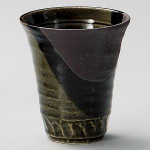 焼酎カップ(お湯割り用) 塗分織部 業務用|utuwayaissin