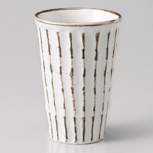 焼酎カップ(お湯割り用) 錆粉引しのぎ 業務用|utuwayaissin