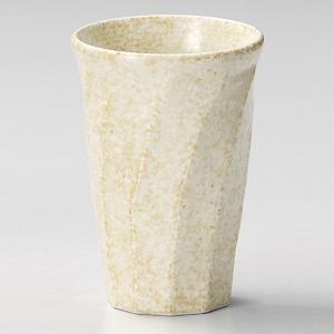 焼酎カップ(お湯割り用) 窯変志野ねじり 業務用|utuwayaissin