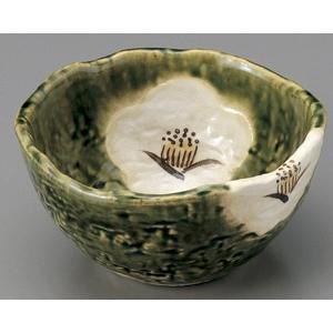 織部椿 4寸小鉢|utuwayaissin
