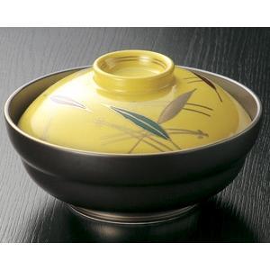 煮物碗・黄漆陶笹 京蓋向付14.3cm|utuwayaissin