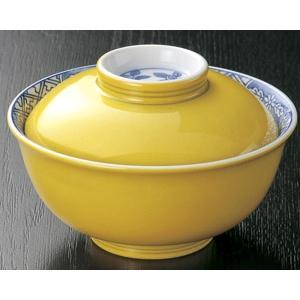 煮物碗・染付黄福 小蓋向11.5cm|utuwayaissin