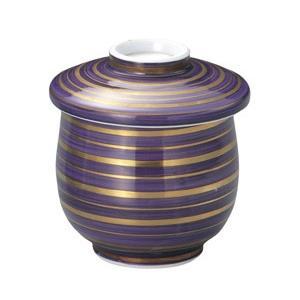 蒸し碗 紫巻金筋むし碗|utuwayaissin