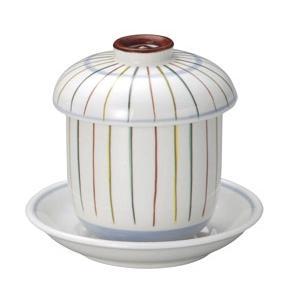 蒸し碗 傘色十草小むし碗・受皿付|utuwayaissin