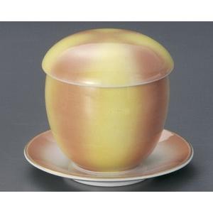 蒸し碗 二色吹玉むし碗・受皿付|utuwayaissin
