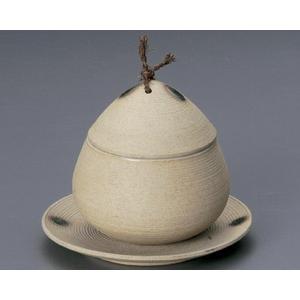 蒸し碗 土物筋むし碗・大 受皿付|utuwayaissin