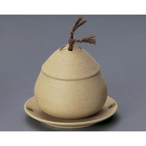 蒸し碗 土物筋むし碗・小 受皿付|utuwayaissin