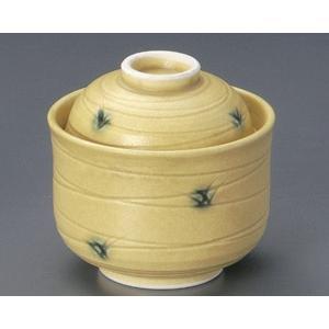 蒸し碗 黄瀬戸草紋ダルマ型むし碗|utuwayaissin