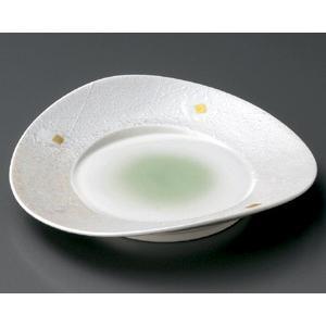 ラスターヒワ吹 両上り8.0皿|utuwayaissin