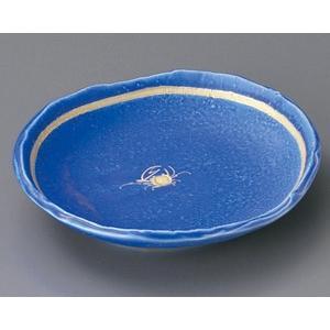 青翠蟹絵 6.0皿|utuwayaissin
