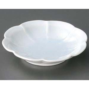 青白磁 花型5.0皿|utuwayaissin