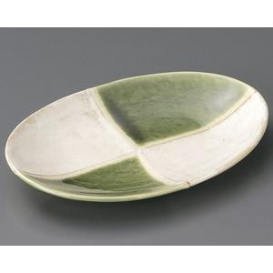 オリベ市松 小判フルーツ皿|utuwayaissin