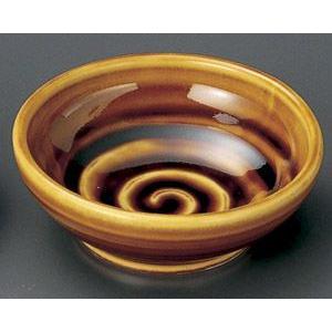業務用小皿・アメ釉うず タレ入(9.4cm)|utuwayaissin