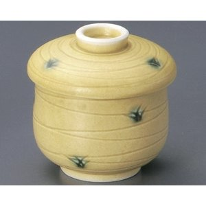 蒸し碗 黄瀬戸草紋ミニむし碗|utuwayaissin