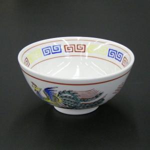 三色雷門支那絵 5.0丸丼・15.3cm|utuwayaissin