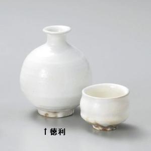 粉引 徳利(信楽焼・手造り)|utuwayaissin