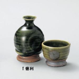 織部ちぎり高台 徳利(美濃焼・手造り)|utuwayaissin