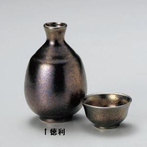 虹彩(黒) 徳利|utuwayaissin