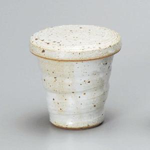 白釉 ヒレ酒カップ(ふぐひれ酒用)・手造り utuwayaissin