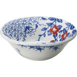 陶器製手洗い鉢 手描きゴス花絵9号手洗鉢(信楽焼)|utuwayaissin