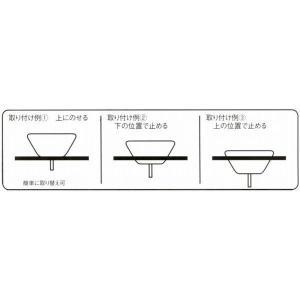 陶器製手洗い鉢 手描きゴス花絵9号手洗鉢(信楽焼)|utuwayaissin|03