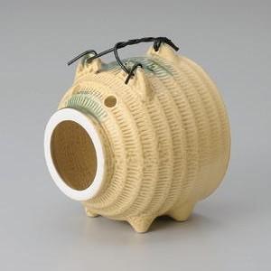 ぶたの蚊取り線香入れ(蚊遣り器)イラボ|utuwayaissin