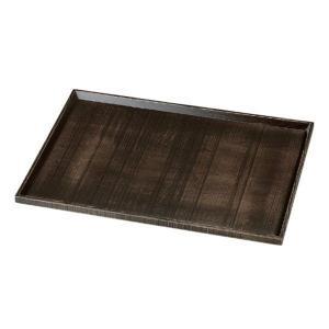 木製懐石盆・荒彫長手盆 よもぎ塗 尺4|utuwayaissin