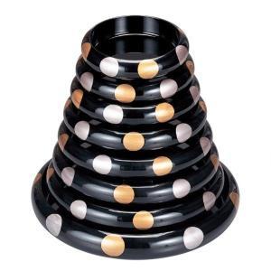 特上寿司用の高級寿司桶、5人用。盛鉢にもOK サイズ:外寸直径41.0cm×高さ7.0cm 材質:A...