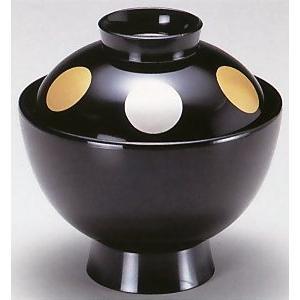 吸物椀・3.5寸雅小吸椀 黒日月|utuwayaissin