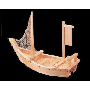 木製舟盛り器 大和大漁舟(網付)2尺|utuwayaissin