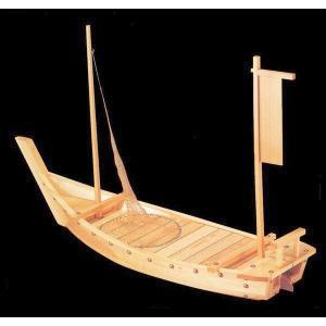 木製舟盛り器 大和大漁舟(網付)4尺|utuwayaissin