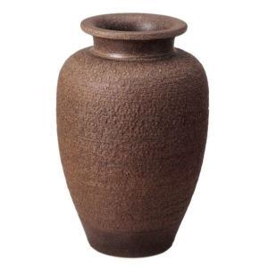 信楽焼大壷 窯肌松皮壺型花瓶20号 utuwayaissin