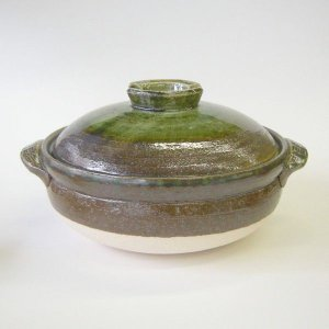 深型土鍋6号 南蛮ビードロ(1人用・日本製)業務用|utuwayaissin