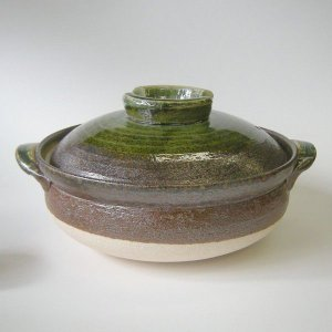 深型土鍋9号 南蛮ビードロ(4人用・日本製)業務用|utuwayaissin