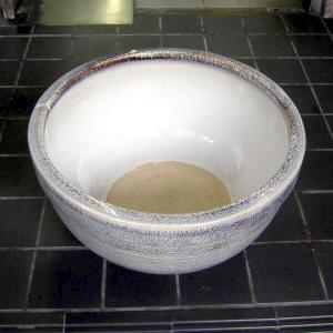 水鉢・天目ボウル13号(睡蓮・めだか鉢)信楽焼|utuwayaissin