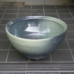 陶器製手洗器 緑斑点10号手洗鉢(信楽焼)|utuwayaissin