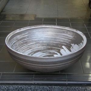 陶器製手洗い鉢 うずしお13号手洗鉢(信楽焼)|utuwayaissin