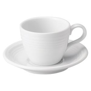 フロスティーホワイト コーヒー碗皿・業務用|utuwayaissin