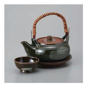 土瓶蒸し 織部丸型土瓶むし(直火可)|utuwayaissin