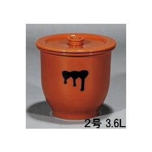 陶器製貯蔵容器(かめ)2号・日本製(常滑焼)|utuwayaissin