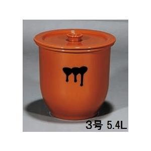 陶器製貯蔵容器(かめ)3号・日本製(常滑焼)|utuwayaissin