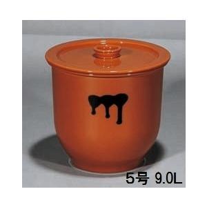 陶器製貯蔵容器(かめ)5号・日本製(常滑焼)|utuwayaissin