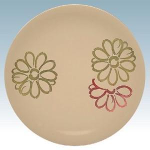 回転寿司皿 フラワークリーム(10枚)