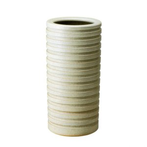 傘立て・信楽焼き陶器製傘たて 千段白・S|utuwayaissin