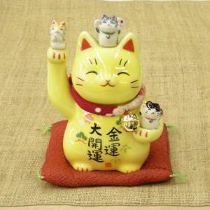 彩絵金運大開運招き猫 utuwayaissin