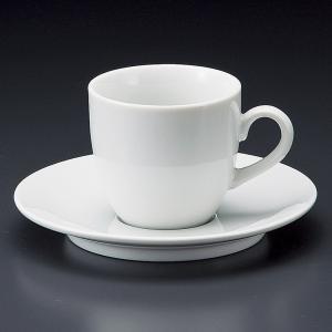 ベーシック コーヒー碗皿・業務用(日本製白磁)|utuwayaissin