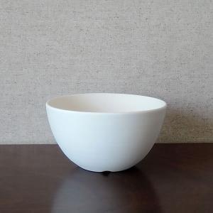 白い陶器の植木鉢(つやなし、マットタイプ) / ボールタイプ|utyu|08